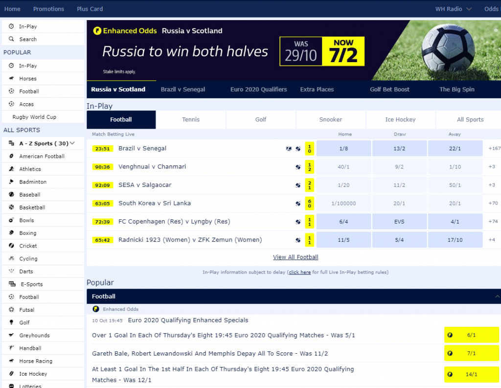 William Hill Payout