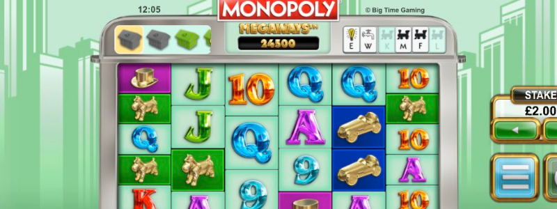 monopoly megaways title picture