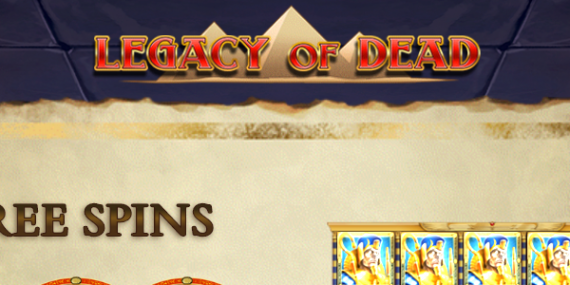 Legacy Of Dead Slot Review - Play'n Go