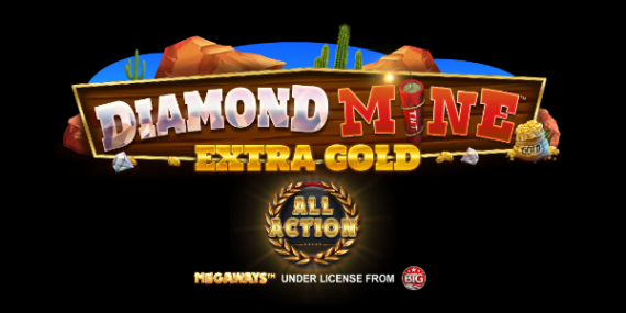 Diamond Mine Extra Gold All Action Slot Review - Blueprint Gaming