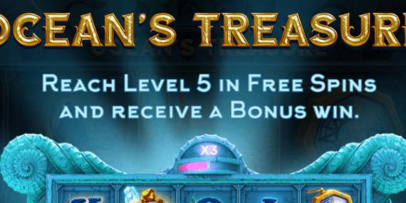 Ocean's Treasure Slot Review - NetEnt