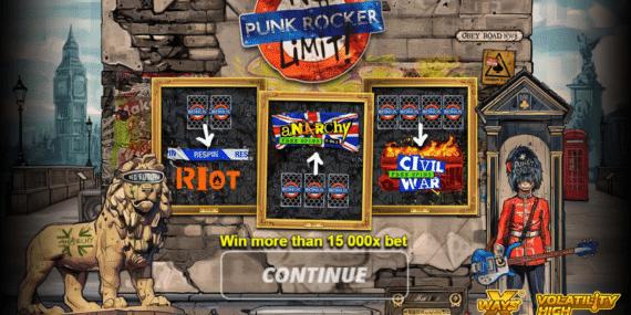 Punk Rocker Slot Review - Nolimit City