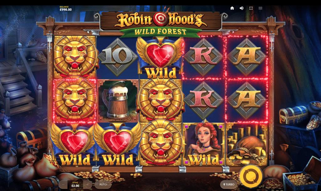 Robin Hoods Wild Forest Slot Machine
