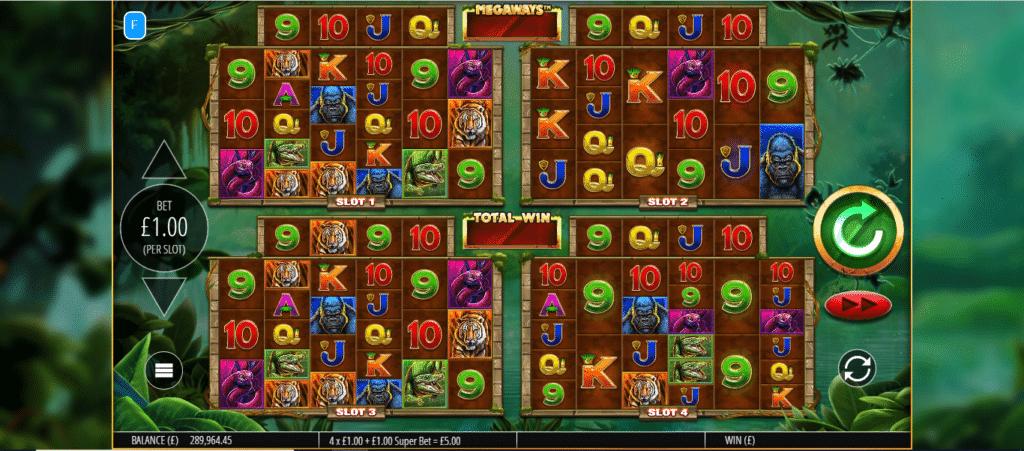 Gorilla Gold Megaways Slot Machine
