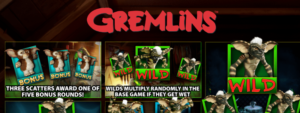 Gremlins Slot Review - Red 7 / Scientific Games