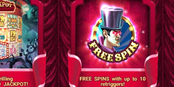 The Haunted Circus Slot Review - Hacksaw Gaming