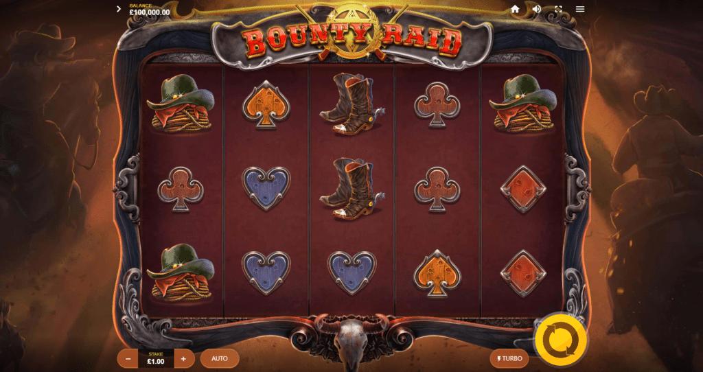 Bounty Raid Slot Release Red Tiger Gaming Visuals Base Game Symbols Art work