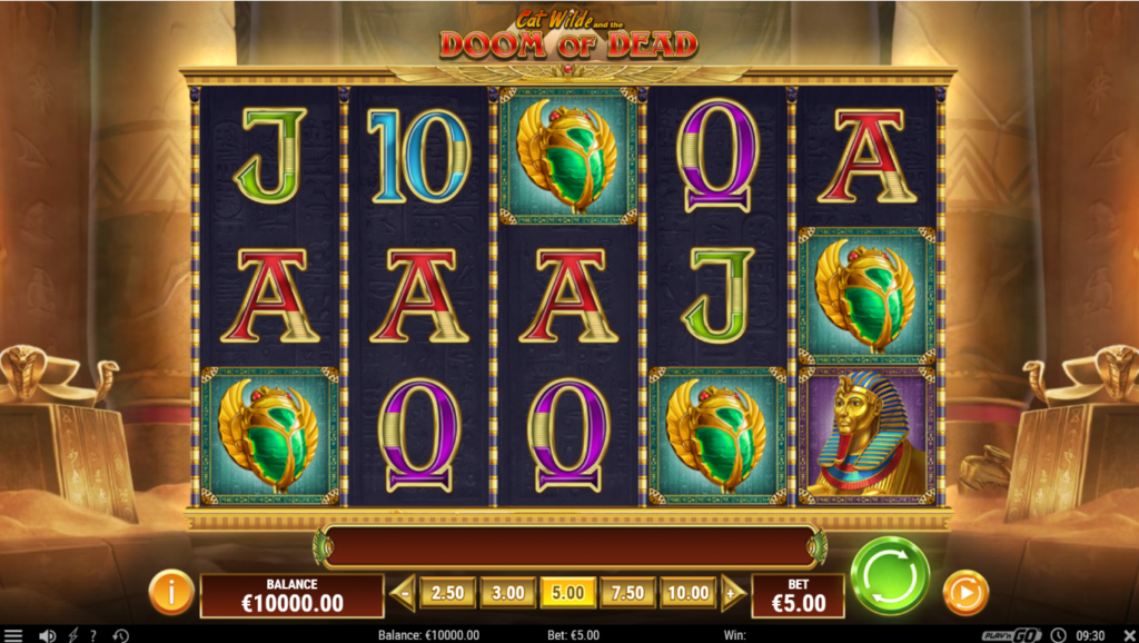 Cat Wilde And The Doom Of Dead Play'n Go Slot Release Casino Visuals Symbols