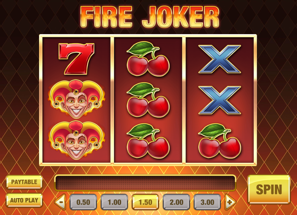 Fire Joker Slot Review Play'n Go Visuals Base Game Casino