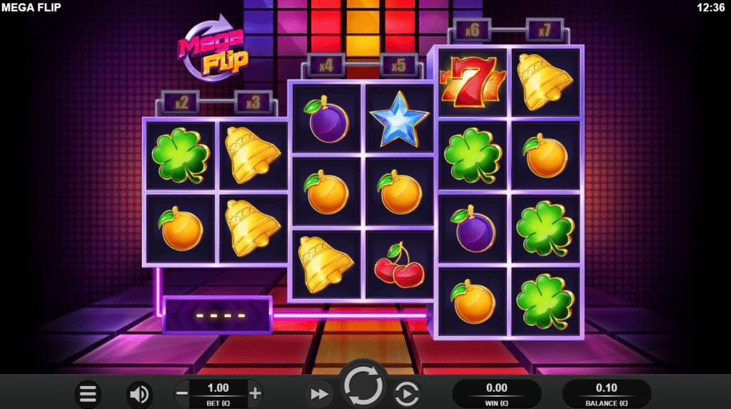 Mega Flip Slot Casino Release Relax Gaming Art Work Visuals