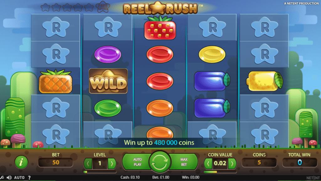 Reel Rush Slot Review Casino NetEnt Visuals