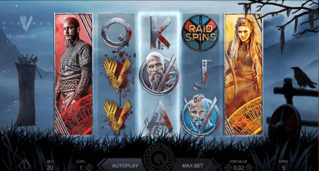 Vikings Video Slot Slot Review Casino Game Play Visuals Art Work