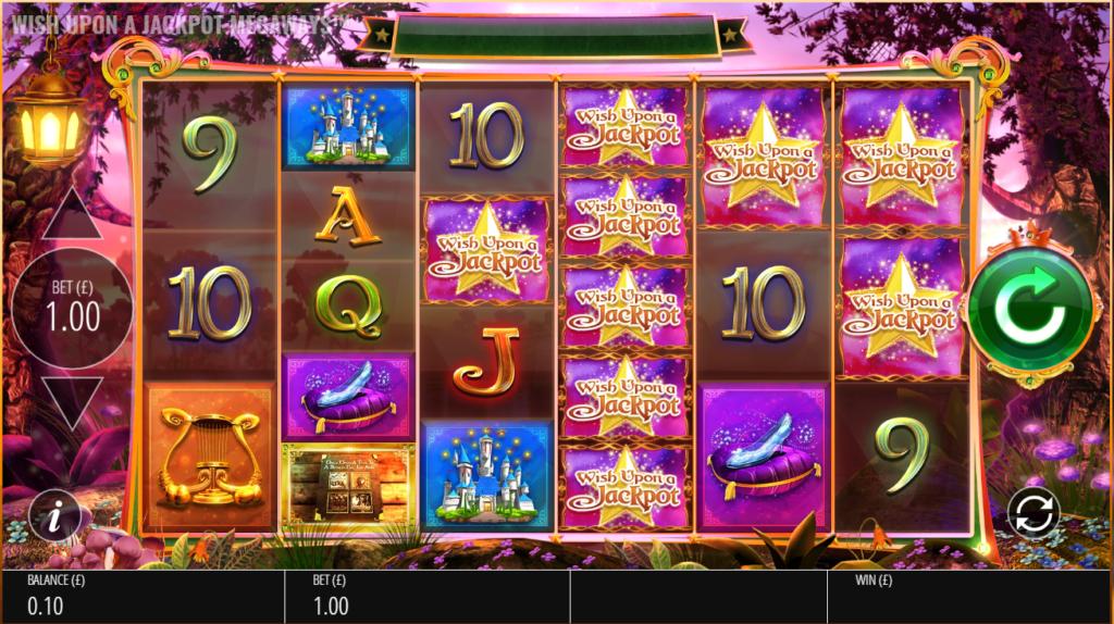 Wish Upon A Jackpot Megaways Slot Review Casino Visuals Base Game