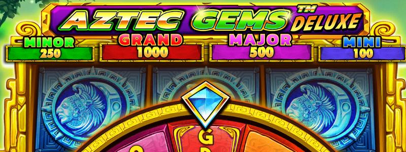 Aztec Gems Deluxe Slot Machine