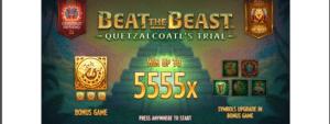 Beat The Beast Quetzalcoatls Trial Slot Review - Thunderkick