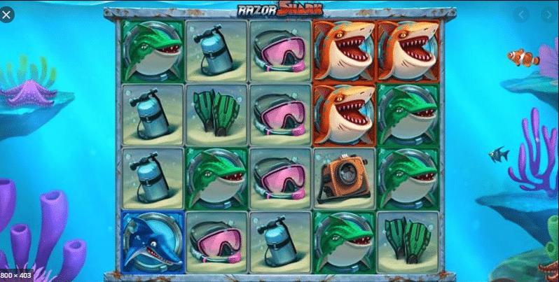 Razor Shark Push Gaming Visuals Base Game Symbols