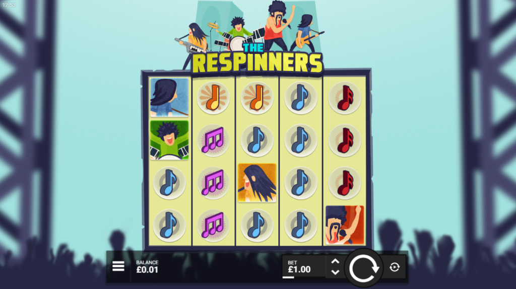 The Respinners Slot Review Hacksaw Gaming Visuals Base Game Art Work