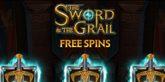 The Sword And The Grail Slot Review - Play'n Go