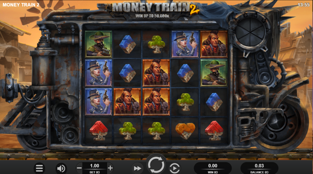 Money Train 2 Slot Review Relax Gaming Visuals Base Game Symbols Pay Table