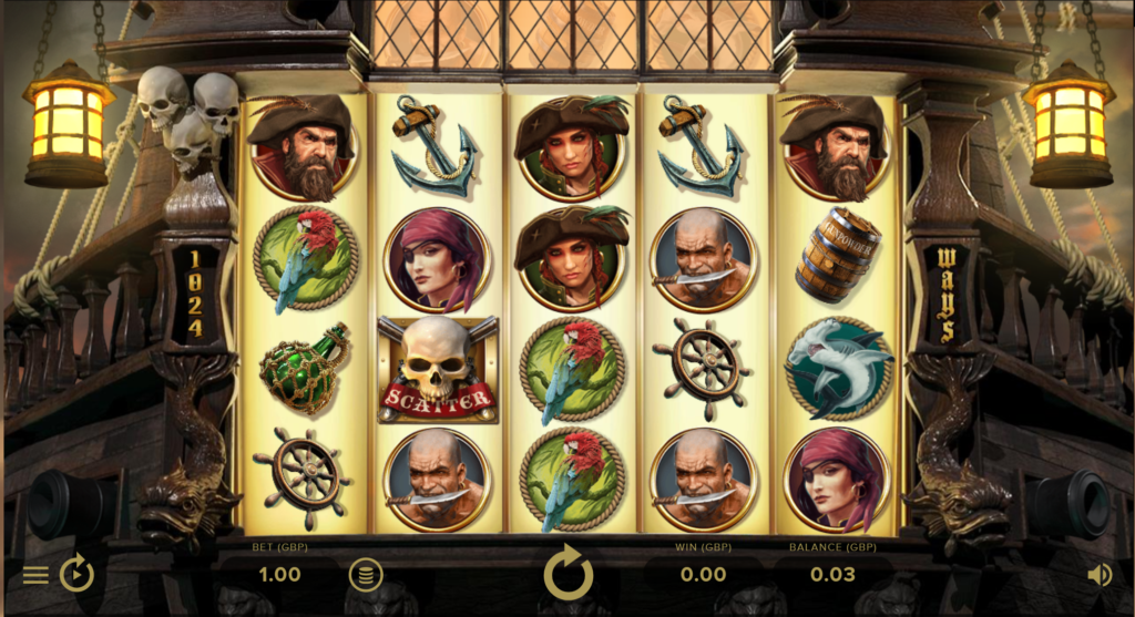 Rage Of The Seas Slot Review NetEnt Casino Visuals Base Game Symbols Pay Table