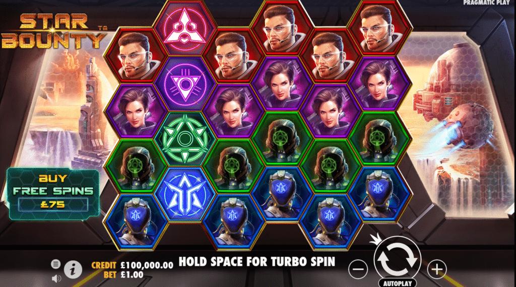 Star Bounty Slot Review Pragmatic Play Visuals Base Game Casino Symbols