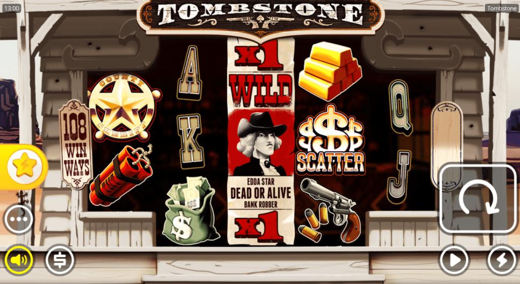 Tombstone Slot Review Nolimit City Visuals Base Game Symbols