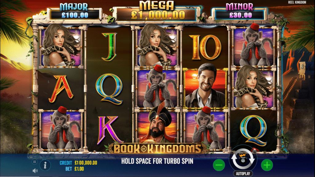 Book Of Kingdoms Slot Review Pragmatic Play Casino Visuals Pay Table Symbols