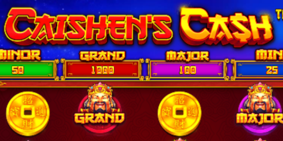 Caishen's Cash Slot Review - Pragmatic Play