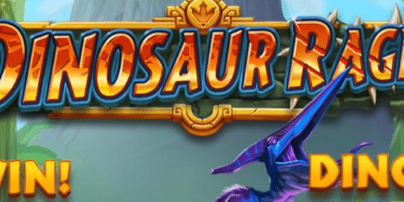 Dinosaur Rage Slot Review - Quickspin