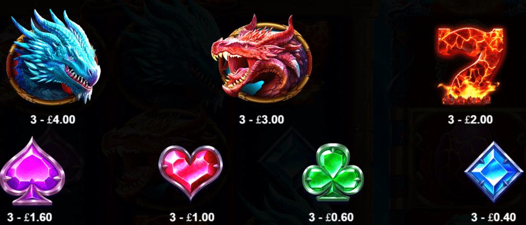 Dragon Kingdom Eyes Of Fire Slot Review  Pragmatic Play Visuals Casino Symbols Bonus Free Spins