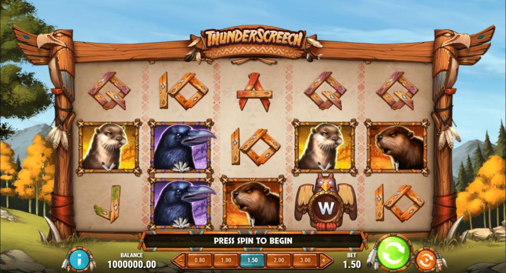 Thunder Screech Slot Review  Play'n Go Visuals Bonus Symbols Casino