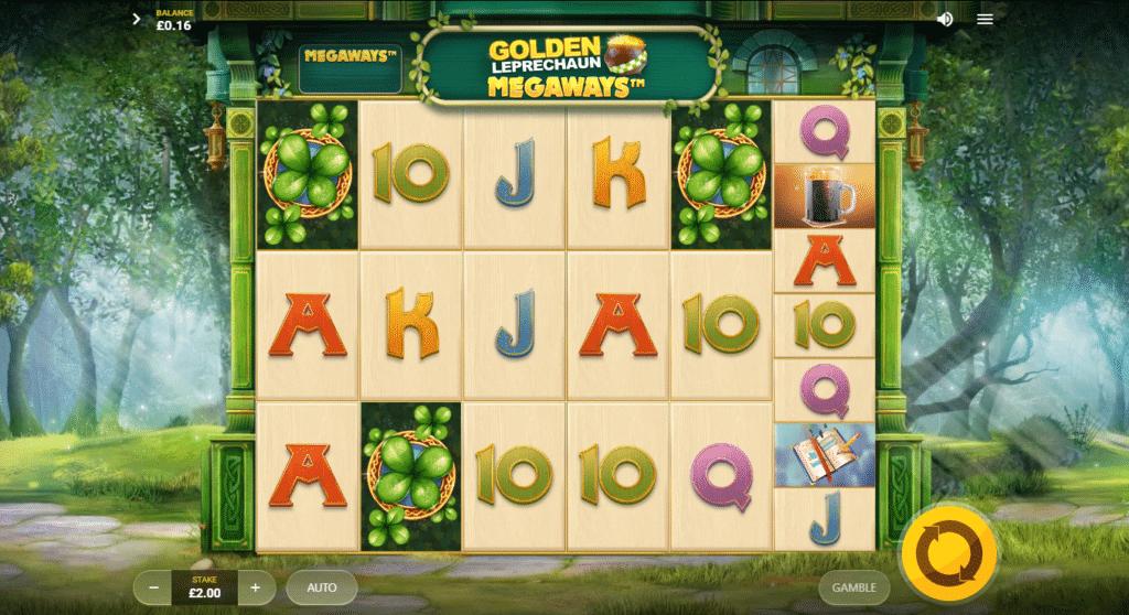 Golden Leprechaun Megaways Slot Review  Red Tiger Gaming Visuals Bonus Volatile