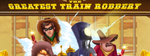 The Greatest Train Robbery Slot Review - Red Tiger