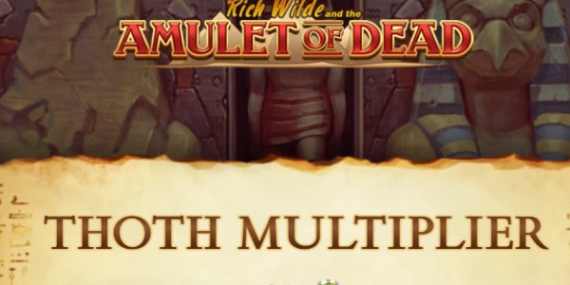 Rich Wilde And The Amulet Of Dead Slot Review - Play'n Go