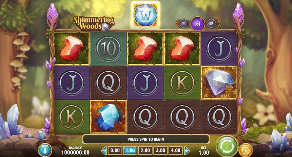 The Shimmering Woods Slot Review  Play'n Go Visuals Casino Bonus Volatile Symbols