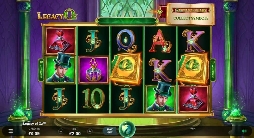Legacy Of Oz Slot Review  Triple Edge Studios Visuals Symbols Casino Volatile Bonus